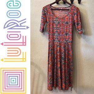 Colorful LuLaRoe Nicole Dress
